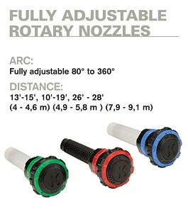 Fully Adjustable Rotary Nozzle