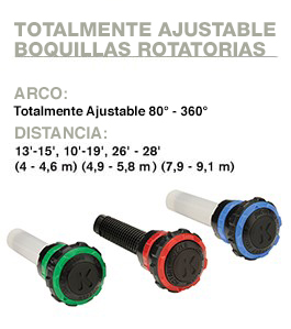 Ajustable Rotatorias