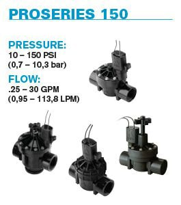 ProSeries 150 Electric Valves