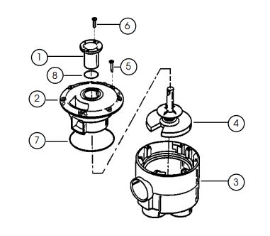 4000 Indexing Valve Parts Diagram