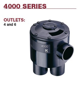 4000 Series Indexing Valve