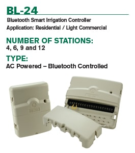 BL-24 Battery Powered Irrigation Controller