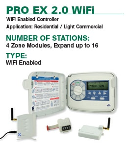 Pro Ex 2.0 WiFi Irrigation Controller