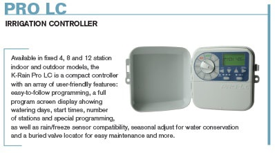 ProLC Irrigation Controller