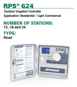 RPS 624 Irrigation Controller