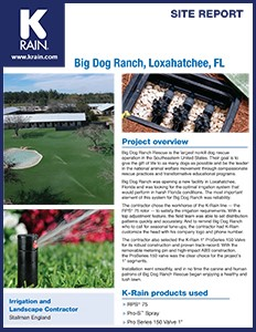 Site Report Big Dog Ranch
