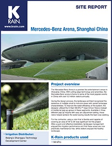 Site Report Mercedes Benz Arena