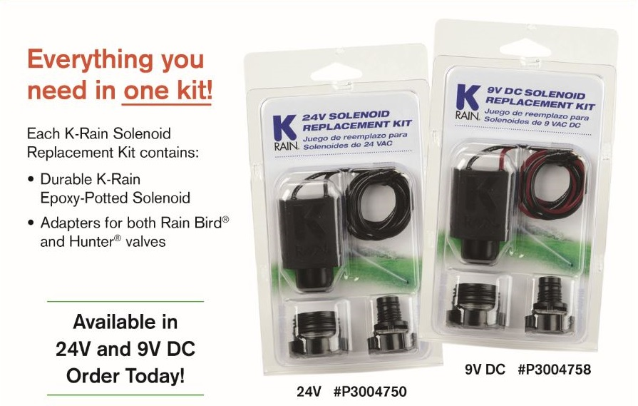 Replacement Solenoid Kit